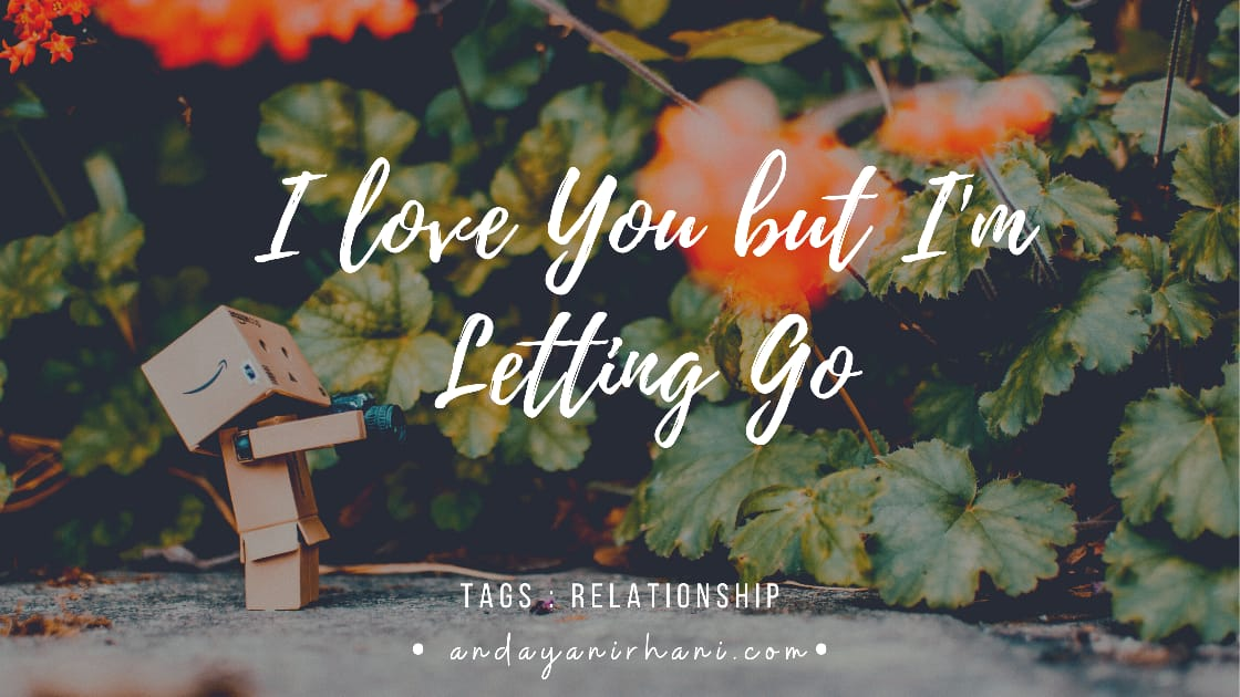 i love you but im letting go