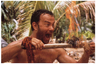 Tom Hanks Survivor in Cast Away