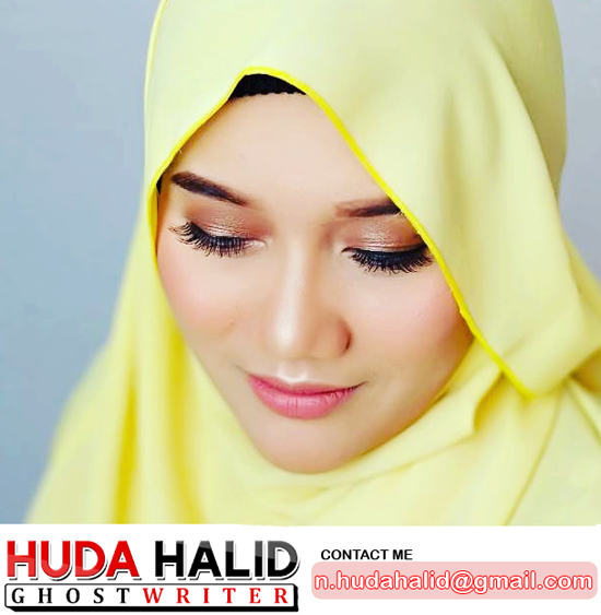 Huda Halid - Blogger and Malaysian Ghost Writer