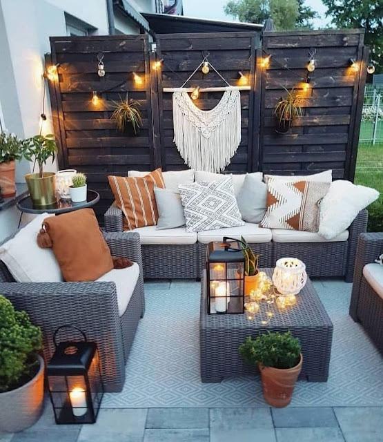 Iluminación de Terrazas Jardines y Patios