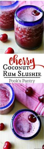 Cherry Rum Slushie