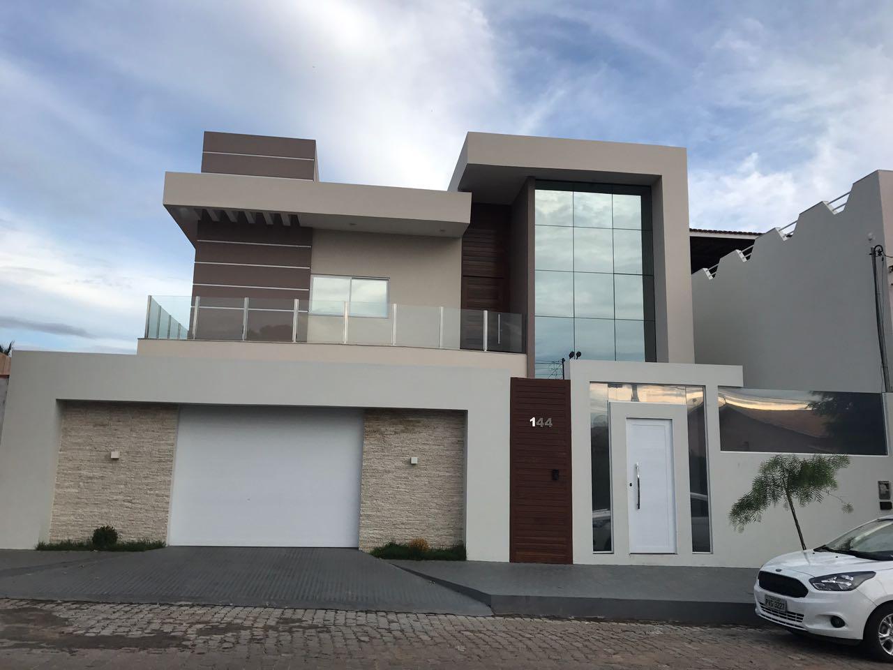 3danilo maquetes eletr nicas 3d fachada de sobrados for Fotos de casas modernas brasileiras