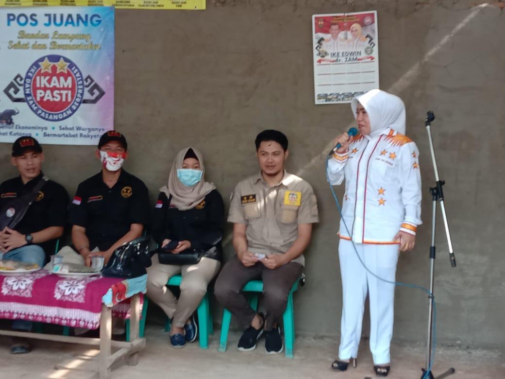 Dokter Zam gelar Acara silaturahmi bersama para Relawan PIZ Keteguhan, Telukbetung Timur