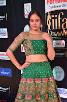 Nandita Swetha in a tight Green Choli Ghagra at IIFA Utsavam Awards March 2017 ~ 021.JPG