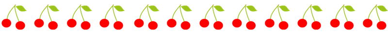 cherry border