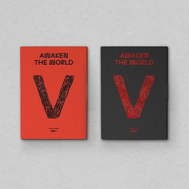 WayV'Awaken The World-The 1st Album'