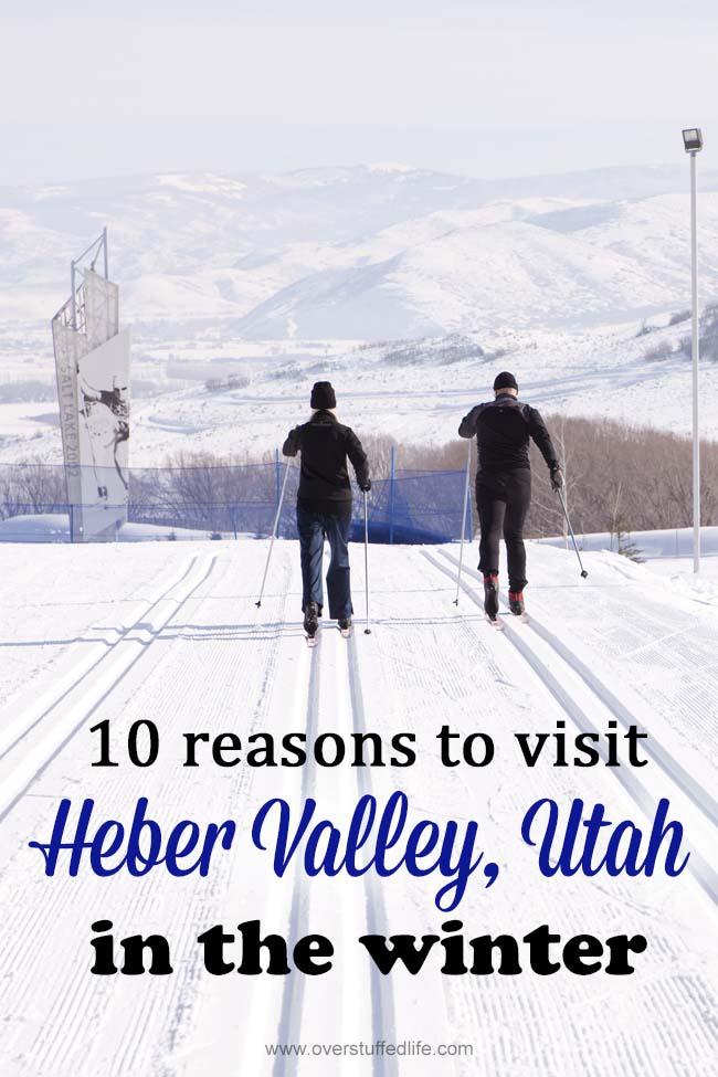 Heber Valley | Utah | Cities | Home | winter vacation ideas | family travel | snow sports | cross country ski | snowmobile | sledding | downhill ski | ice skate | lodge | winter resort | Heber Creeper | family travel ideas for winter vacations | winter travel destinations | hot springs