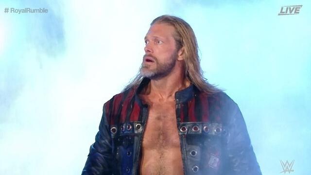 Edge Returns at WWE Royal Rumble 2020