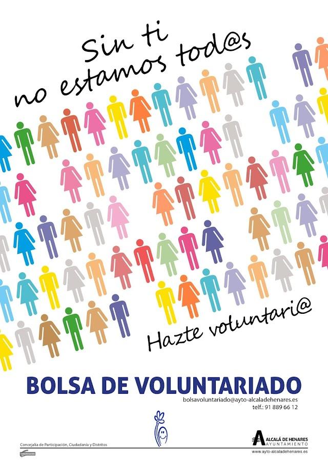 ES NOTICIA. Alcalá celebrará el Día Internacional del Voluntariado con una exposición y la lectura de un manifiesto