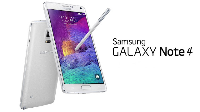 "Samsung Galaxy Note 4 Specifications - LAUNCH Announced 2014, September Versions N910F (Europe); N910K/N910L/N910S (Korea); N910C (Asia, Europe, South America); N910FD (United Arab Emirates); N910FQ (Turkey); N910H (Asia-Pacific); N910G (Singapore, India, Australia); N910U (Hong Kong, Taiwan, Australia, New Zealand, Chile); N910W8 (North America) DISPLAY Type Super AMOLED capacitive touchscreen, 16M colors Size 5.7 inches (~73.4% screen-to-body ratio) Resolution 1440 x 2560 pixels (~518 ppi pixel density) Multitouch Yes Protection Corning Gorilla Glass 4 BODY Dimensions 153.5 x 78.6 x 8.5 mm (6.04 x 3.09 x 0.33 in) Weight 176 g (6.21 oz) SIM Micro-SIM  - Stylus PLATFORM OS Android OS, v4.4.4 (KitKat), upgradable to v6.0.1 (Marshmallow) CPU Quad-core 2.7 GHz Krait 450 - Snapdragon 805Octa-core (4x1.3 GHz Cortex-A53 & 4x1.9 GHz Cortex-A57) - Exynos 5433 Chipset Qualcomm Snapdragon 805 Exynos 5433 GPU Adreno 420 (Snapdragon 805) Mali-T760 MP6 (Exynos 5433) MEMORY Card slot microSD, up to 256 GB (dedicated slot) Internal 32 GB, 3 GB RAM CAMERA Primary 16 MP, f/2.2, 31mm, OIS, autofocus, LED flash Secondary 3.7 MP, f/1.9, 22mm, 1440p@30fps, 1080p (HDR) Features 1/2.6"" sensor size, 1.12 µm pixel size, geo-tagging, touch focus, face/smile detection, panorama, HDR Video 2160p@30fps, 1080p@60fps, dual-video rec NETWORK Technology GSM / HSPA / LTE 2G bands GSM 850 / 900 / 1800 / 1900 3G bands HSDPA 850 / 900 / 1900 / 2100    HSDPA 850 / 1700 / 1900 / 2100 - N910W8 4G bands LTE band 1(2100), 2(1900), 3(1800), 4(1700/2100), 5(850), 7(2600), 8(900), 17(700), 20(800) - N910F, N910C    LTE band 1(2100), 2(1900), 3(1800), 4(1700/2100), 5(850), 7(2600), 8(900), 28(700), 38(2600), 40(2300) - N910G  LTE band 1(2100), 2(1900), 3(1800), 4(1700/2100), 5(850), 7(2600), 8(900), 12(700), 17(700) - N910W8  LTE band 1(2100), 2(1900), 3(1800), 4(1700/2100), 5(850), 7(2600), 8(900), 28(700) - N910U Speed HSPA 42.2/5.76 Mbps, LTE Cat4 150/50 Mbps (Exynos 5433) HSPA 42.2/5.76 Mbps, LTE Cat6 300/50 Mbps (Snapdragon 805) GPRS Yes EDGE Yes COMMS WLAN Wi-Fi 802.11 a/b/g/n/ac, dual-band, Wi-Fi Direct, hotspot NFC Yes GPS Yes, with A-GPS, GLONASS, BDS USB microUSB v2.0 (MHL 3 TV-out), USB Host Radio No Bluetooth v4.1, A2DP, EDR, LE Infrared Port Yes FEATURES Sensors Fingerprint, accelerometer, gyro, proximity, compass, barometer, gesture, UV, heart rate, SpO2 Messaging SMS(threaded view), MMS, Email, Push Mail, IM Browser HTML5 Java No SOUND Alert types Vibration; MP3, WAV ringtones Loudspeaker Yes 3.5mm jack Yes  - 24-bit/192kHz audio - Active noise cancellation with dedicated mic BATTERY  Removable Li-Ion 3220 mAh battery Stand-by  Talk time Up to 20 h (3G) Music play Up to 82 h MISC Colors Frosted white, Charcoal black, Bronze Gold, Blossom Pink SAR US 0.37 W/kg (head)     0.88 W/kg (body)    SAR EU 0.37 W/kg (head)     0.38 W/kg (body)      - Fast battery charging: 60% in 30 min (Quick Charge 2.0) - ANT+ support - S-Voice natural language commands and dictation - Air gestures - Dropbox (50 GB cloud storage) - MP4/DivX/XviD/WMV/H.264 player - MP3/WAV/eAAC+/AC3/FLAC player - Photo/video editor - Document editor"
