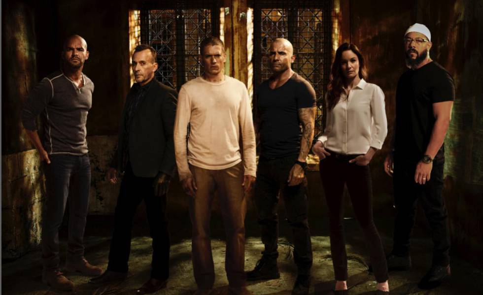 Parte del elenco original ha regresado para esta quinta temporada de Prison Break
