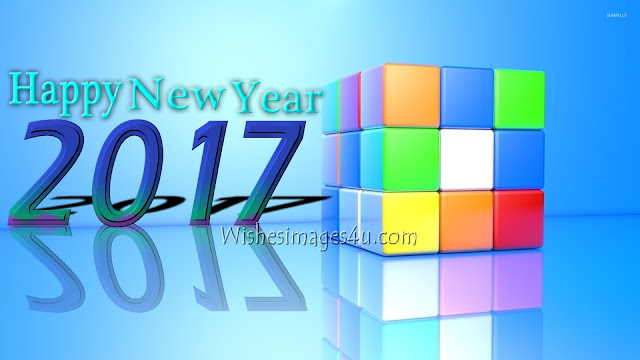 Happy New Year 2017 3D Pics Download For Desktop/PC