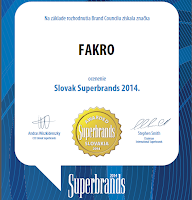 Fakro Superbrands 2014