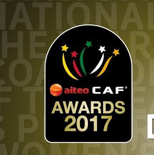 نتائج حفل جوائز افريقيا 2017 مصر لها نصيب الاسد من الجوائز  , صلاح وكوبر الافضل African Player of the Year