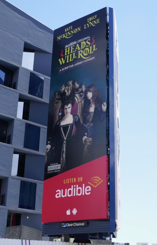 Audible Heads Will Roll billboard