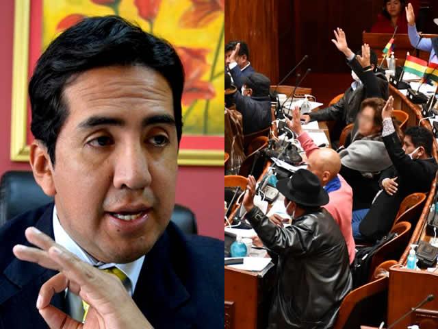 """Diputados: Abogado Bascopé expone implicancias del """"nuevo"""" reglamento impuesto por el MAS"""