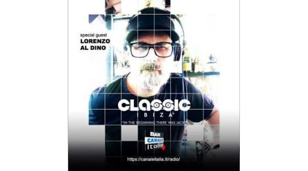 Lorenzo al Dino for Classic Ibiza special radio set