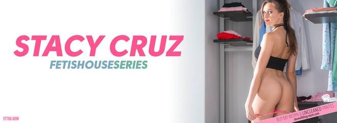 [Fitting-Room] Stacy Cruz - Fetishhouse Series / Pink Micro Panties