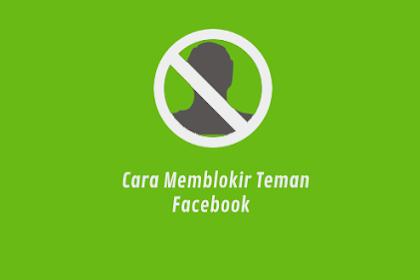 Berikut Cara Blokir Teman Di FB Dengan Cepat