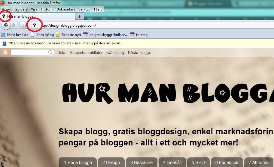 skapa blogg på egen domän