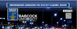 Babcock University Post-UTME Admission Form 2019/2020 | Degree Courses