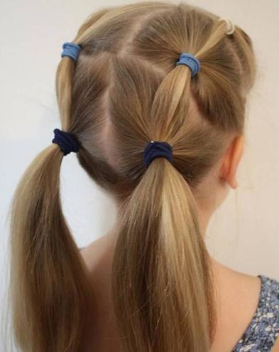Women's Hair Binding Style