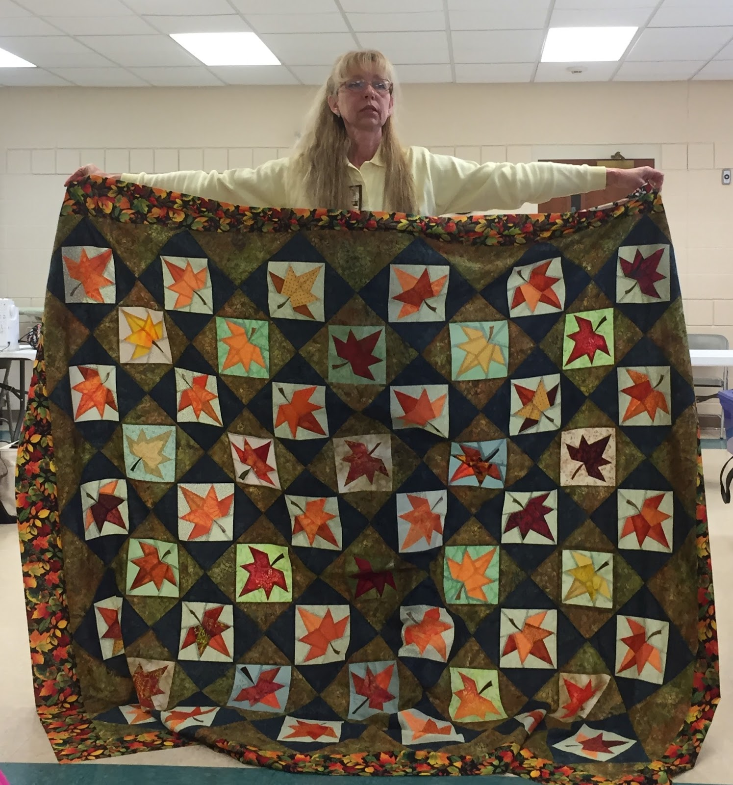 Quiltessa Patchwork Palette One Of Quot Burning Leaves Of