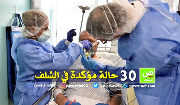 وزارة الصحة : 30 حالة مؤكد إصابتها بفيروس كورونا بالشلف