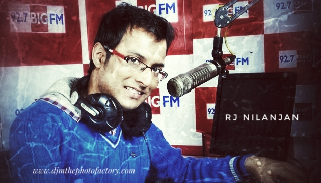 Rj Nilanjan Bengali Radio FM radio jockey on National Radio day August 20