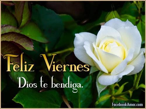 feliz viernes dios te bendiga amiga