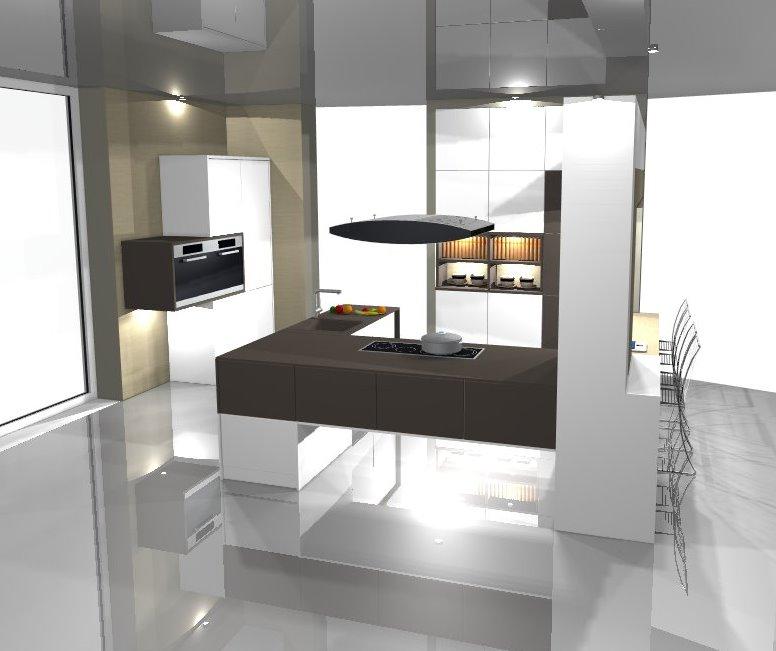 k chenplanung 3d. Black Bedroom Furniture Sets. Home Design Ideas