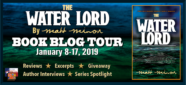 The Water Lord book blog tour promotion banner