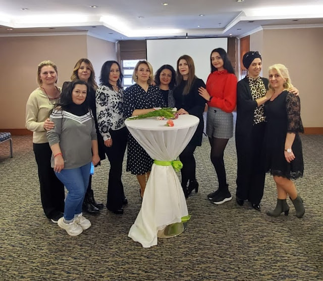 8 Mart Kadınlar Günü-Mutlu kadın Güçlü Kadın Blogger Etkinliği