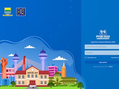 pendaftaran ppdb kota bandung 2020