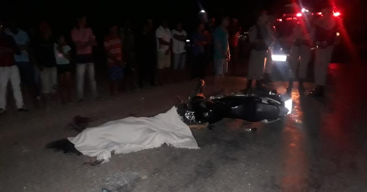 Mulher morre e homem fica gravemente ferido em acidente próximo a Maturéia