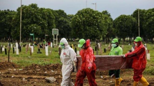 Angka Kematian Harian Akibat Covid-19 di Indonesia Capai Rekor Tertinggi