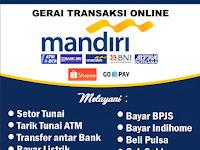 Download Contoh Spanduk  Agen Mandiri Link