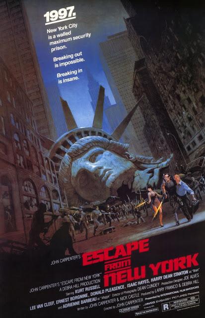 Póster original película 1997 Rescate en Nueva York