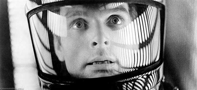 Keir Dullea stars in 2001: A Space Odyssey.