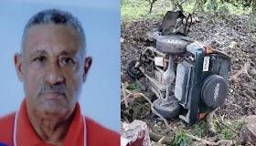 Perdió la vida en un accidente el Alcalde Pedáneo del Municipio de Gaspar Hernández
