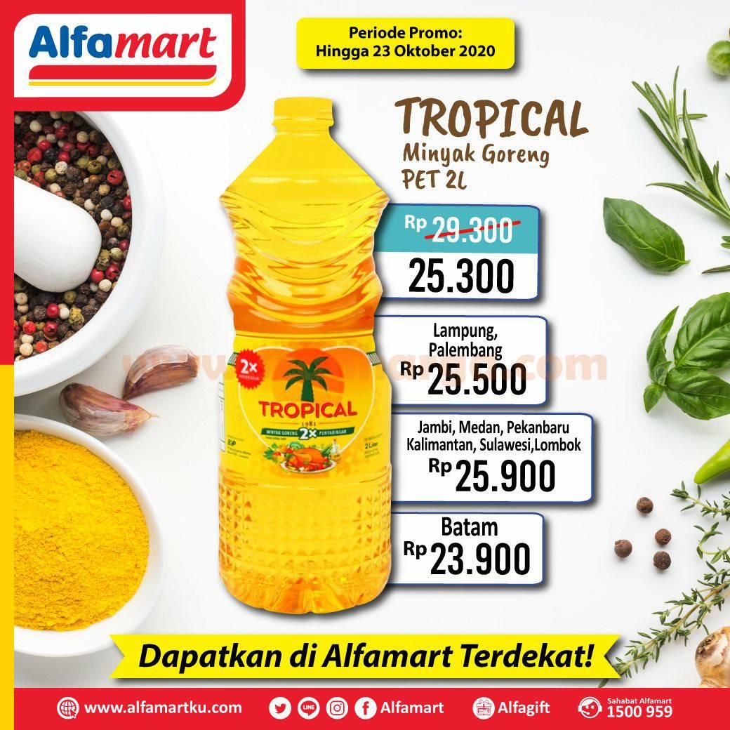 Alfamart Promo Minyak Goreng Tropical Pet 2l Periode 19 23 Oktober 2020 Scanharga
