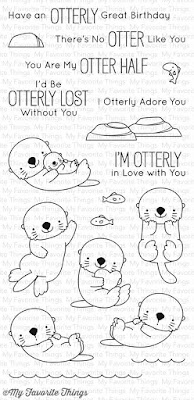 My Favorite things BB Otterly Love You Stamp Set