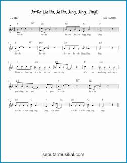 chord ja-da lagu jazz standar