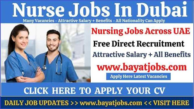 Nurse Jobs In Dubai & Across UAE Vacancies (Dec 2020)