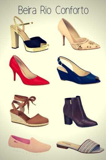 Marca de Calçados Confortáveis Femininos Beira Rio Conforto