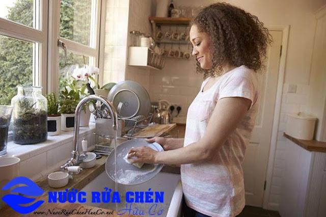 Nước rửa chén organic, nước rửa chén sinh học xu hướng không thể bỏ qua
