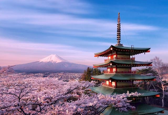 Pocket Hobby - www.pockethobby.com - Motivos para Conhecer o Japão na Primavera - Monte Fuji