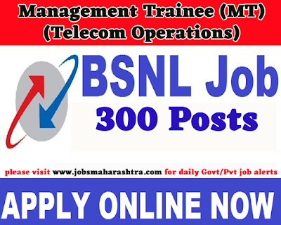 Bharat Sanchar Nigam Limited Recruitment 2019