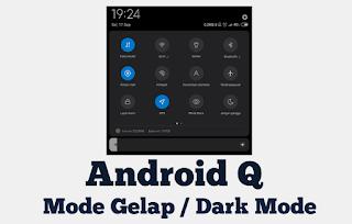 Aplikasi Yang Berubah dan Mendukung Menjadi Mode Gelap di Android Q V-10
