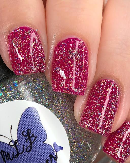 MLF Lacquer Diamond Rain 25 Sweetpeas